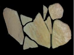 Бутовый камень Кремовый ,